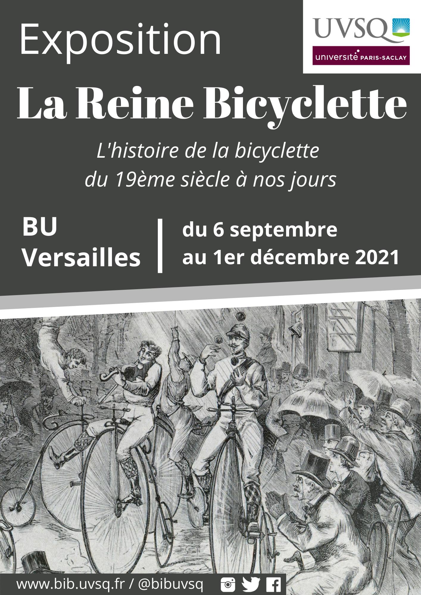 Exposition La reine bicyclette
