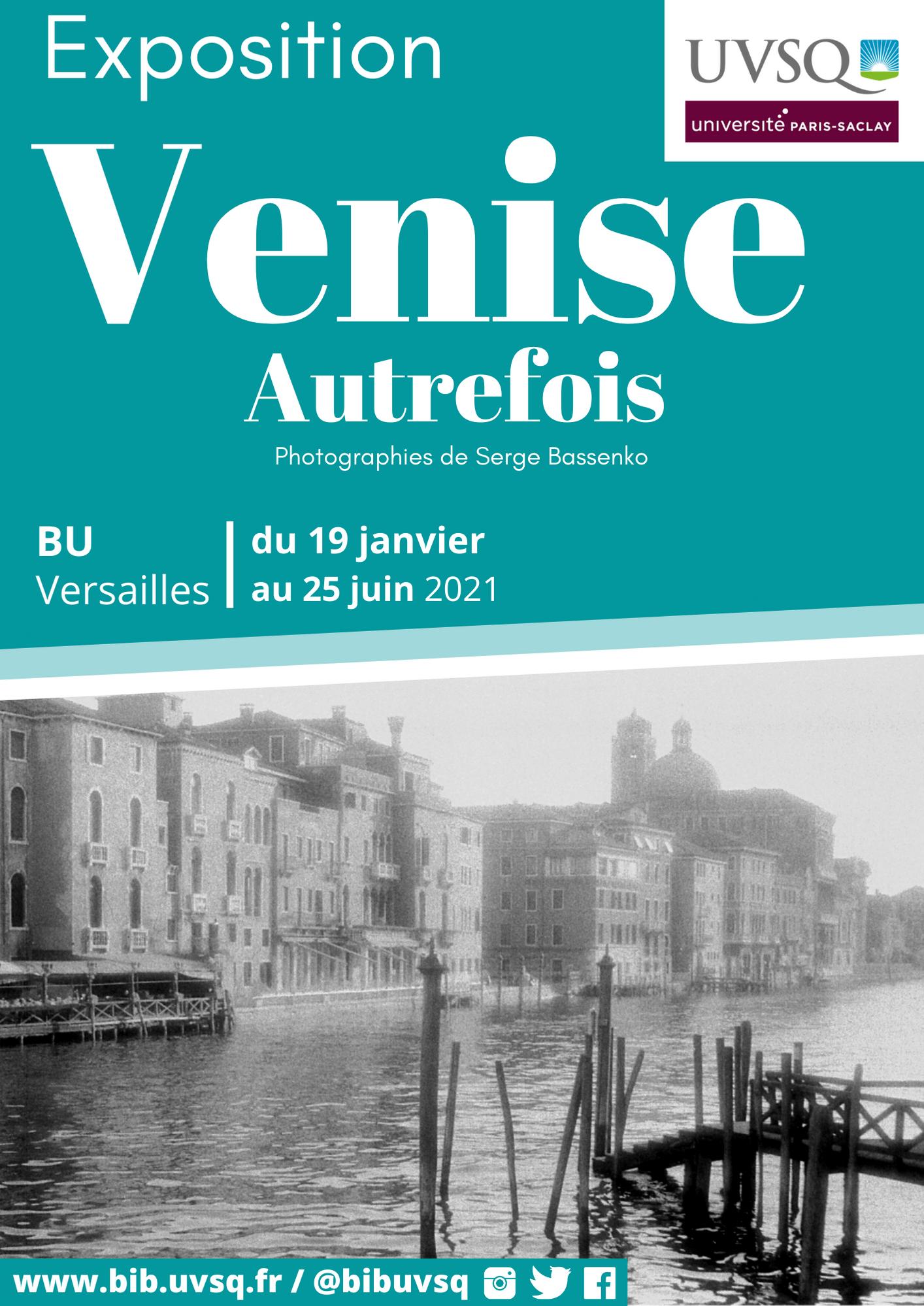 Exposition Venise d'autrefois