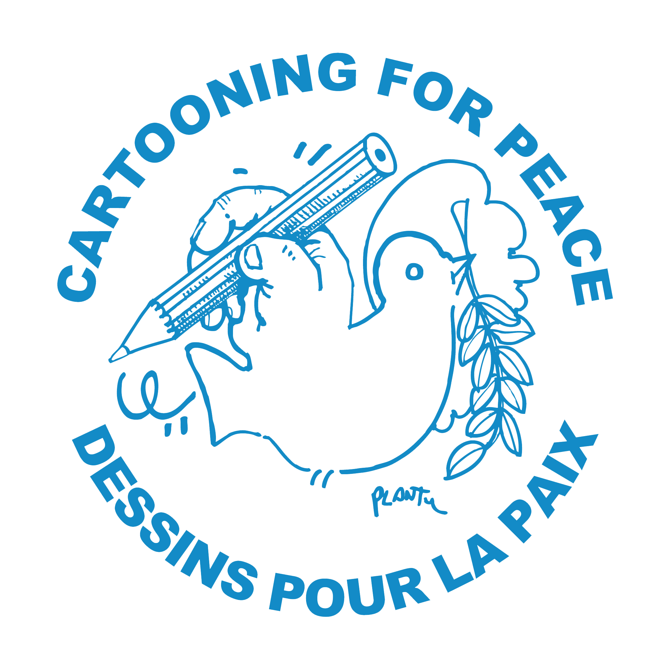 logo Cartooning for Peace